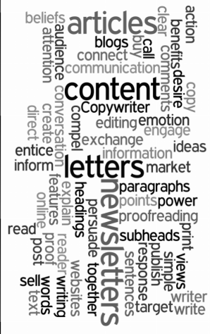 wordle-copywriting