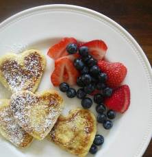 snow day frenchtoast